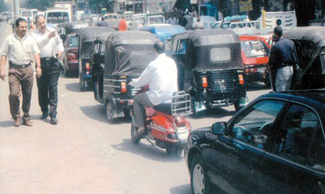 Tuk-tuk licences could be on the way (Photo: Ahram file)