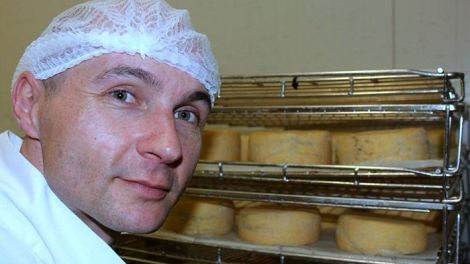 Artisan cheesemaker, Matthieu Megard, from Timboon, in south-west Victoria wants to make raw milk cheese. (Lucy Barbour)