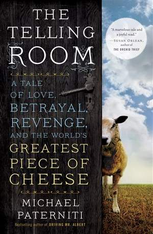 """The cover of """"The Telling Room"""" by Michael Paterniti is seen in an undated photo provided by Random House via Dial Press. (AP Photo/Random House via Dial Press)"""